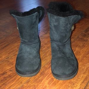 UGG Shoes - Black rhinestone Ugg's